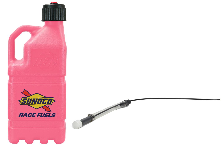 Sunoco Race Jugs Pink Sunoco Race Jug Gen 2 w/ Filler Hose