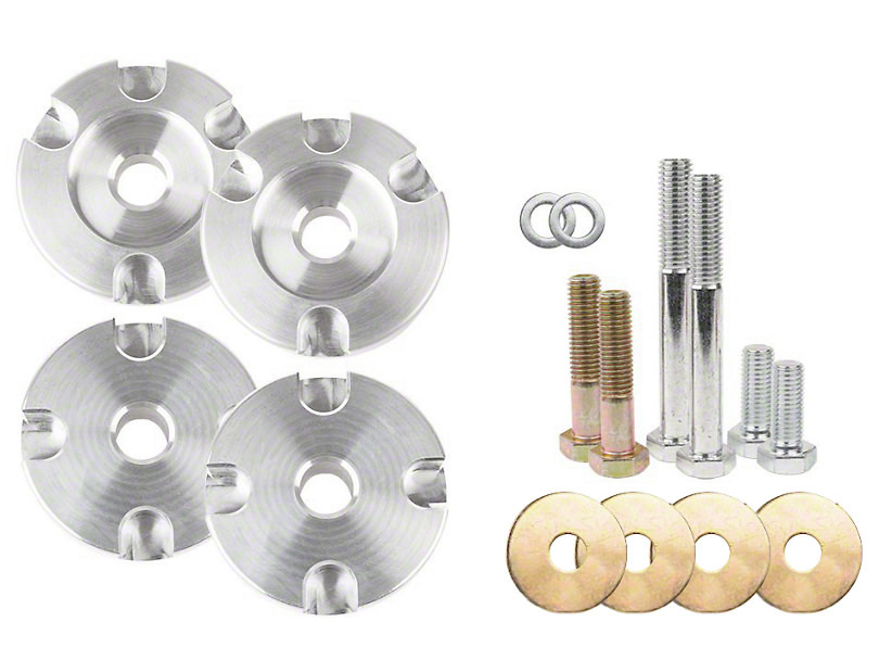 Steeda Autosports Alm Differential Bushing Inset Kit 15-21 Mustang