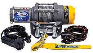 Superwinch ATV 3500-3500# Winch w/Roller Fairlead