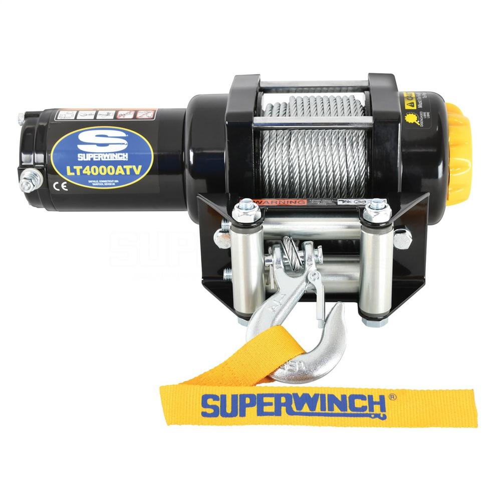 Superwinch LT4000 Winch 4000lbs Steel Rope
