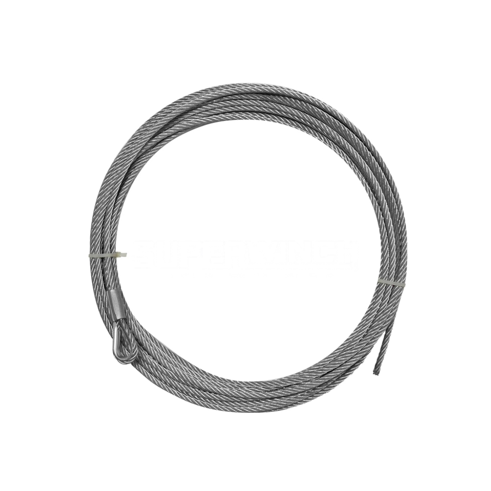 Superwinch Wire Rope 3/8in x 84ft
