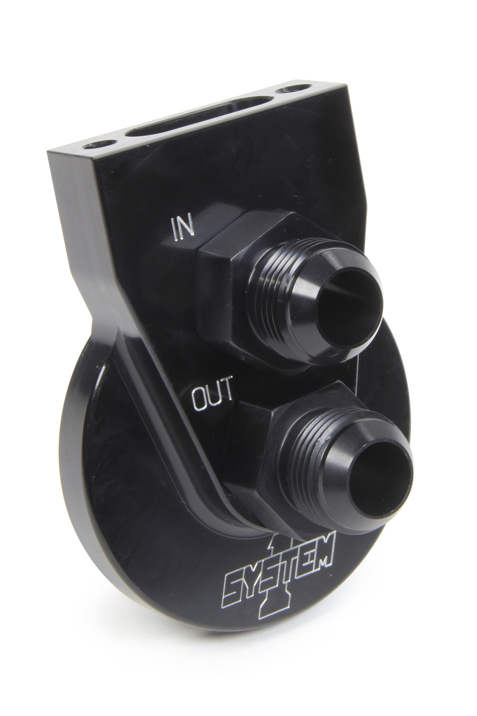System One Remote Filter Mount #12 w/Flat Mnt Surface