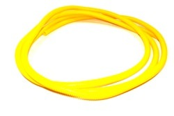 Taylor/vertex Convoluted Tubing 3/8in x 25' Yellow