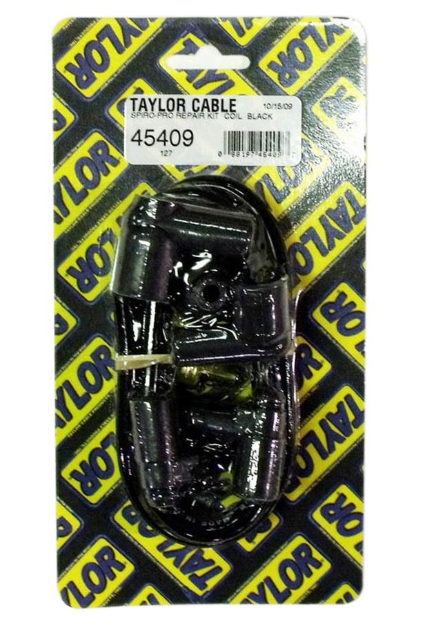 Taylor/vertex 8mm Spiro-Pro Coil Wire Kit- Black