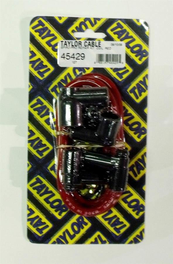 Taylor/vertex Coil Wire Repair Kit - 8mm Spiro-Pro Red