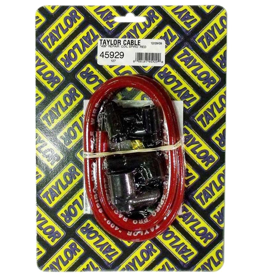 Taylor/vertex 409 Spiro Core Coil Wire Kit Red
