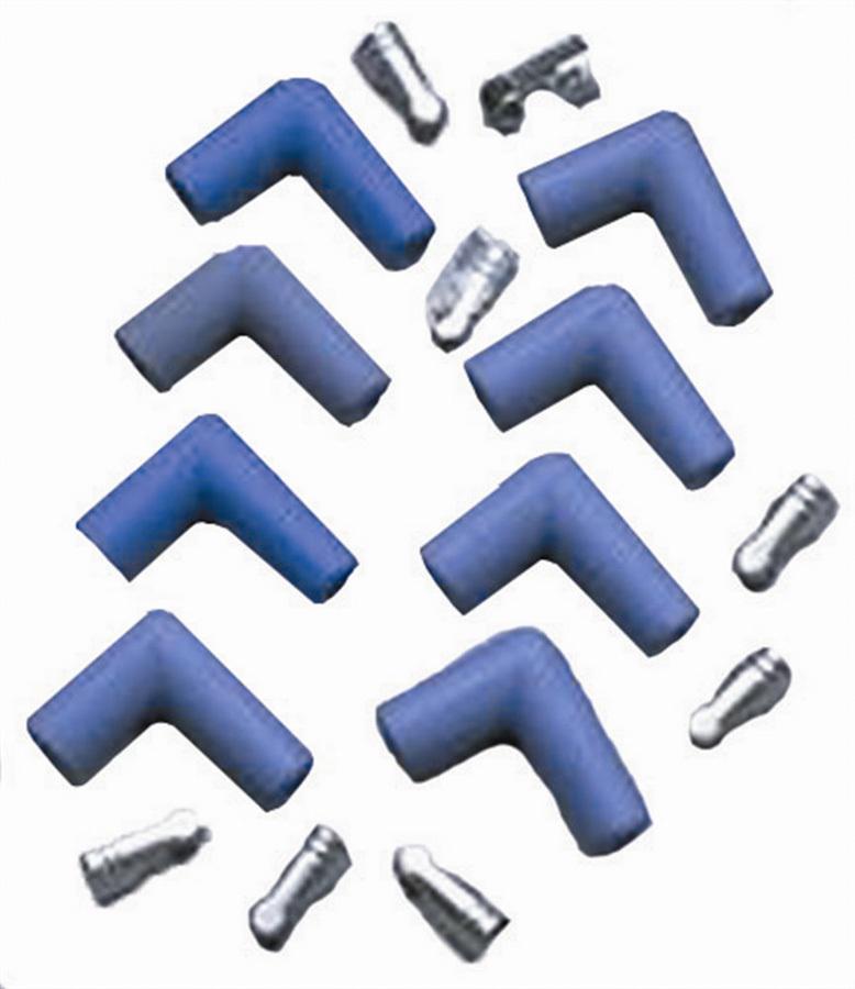 Taylor/vertex 90 Deg. Spark Plug Boot TML Kit Blue