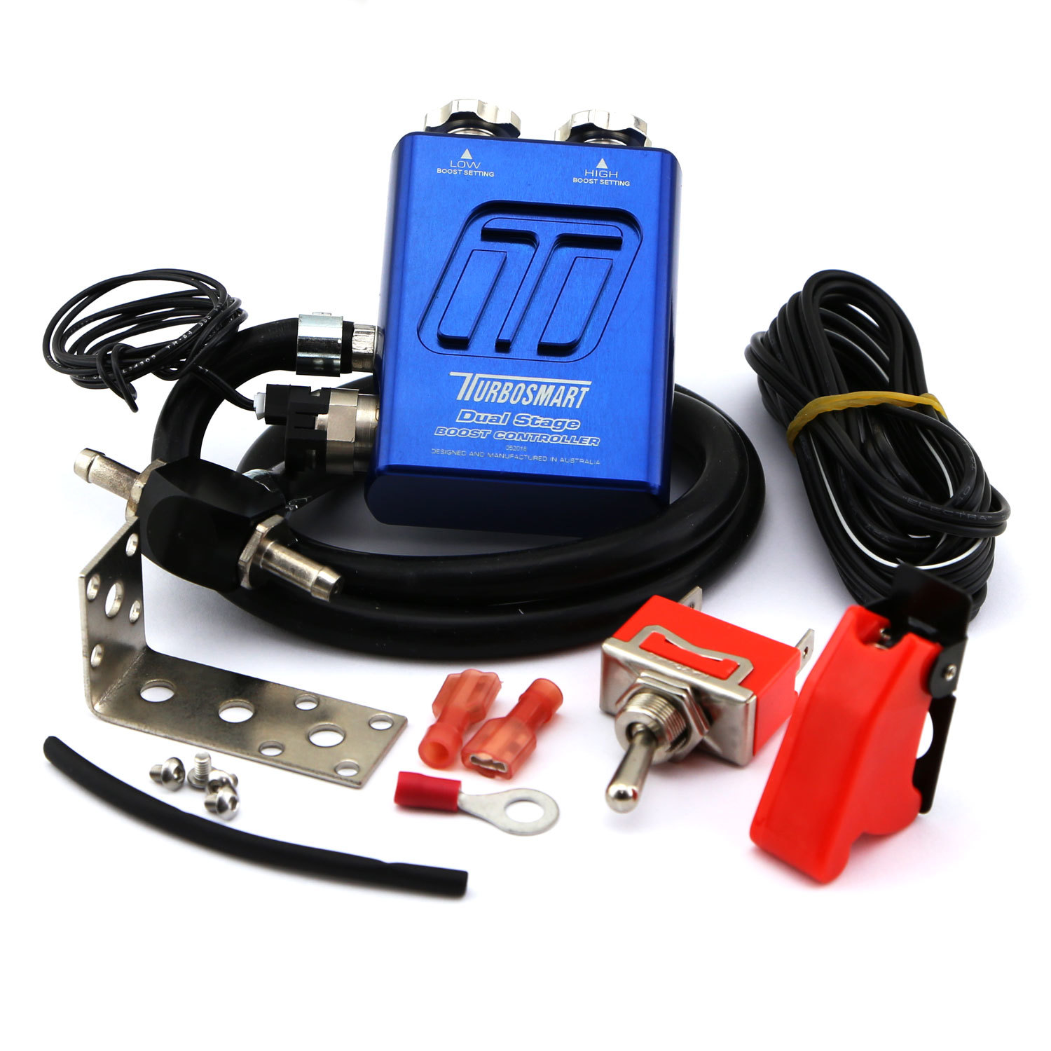 Turbosmart Usa Dual Stage V2 Boost Controller Blue