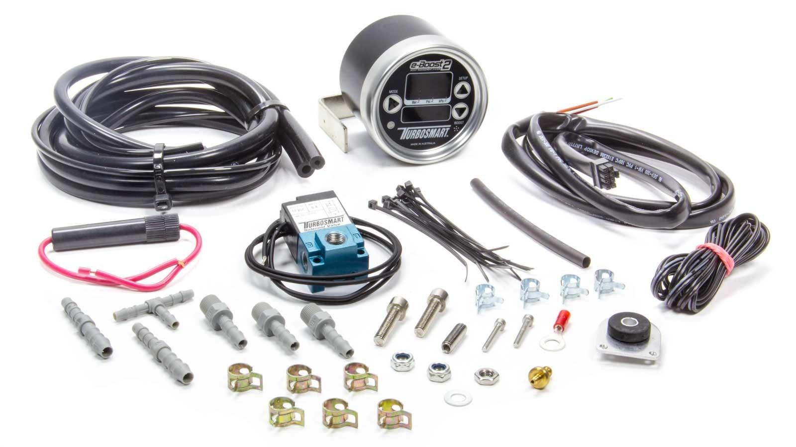 Turbosmart Usa eB2 Elec Boost Control Gauge 60psi Black/Silver