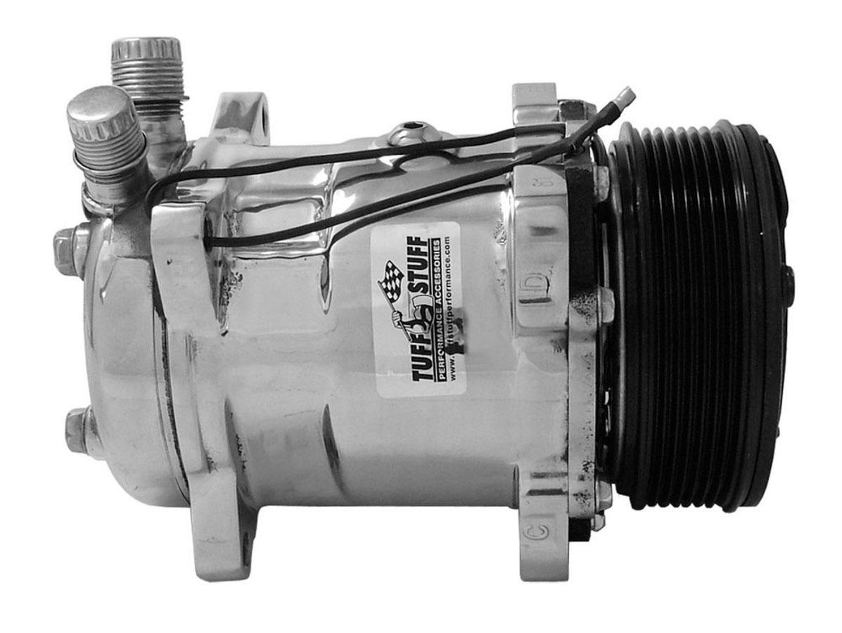 Tuff-stuff 508 Compressor R134A Pol. Serpentine