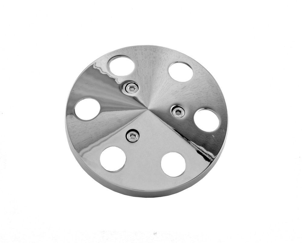 Tuff-stuff A/C Compressor Machined Aluminum Clutch Cover