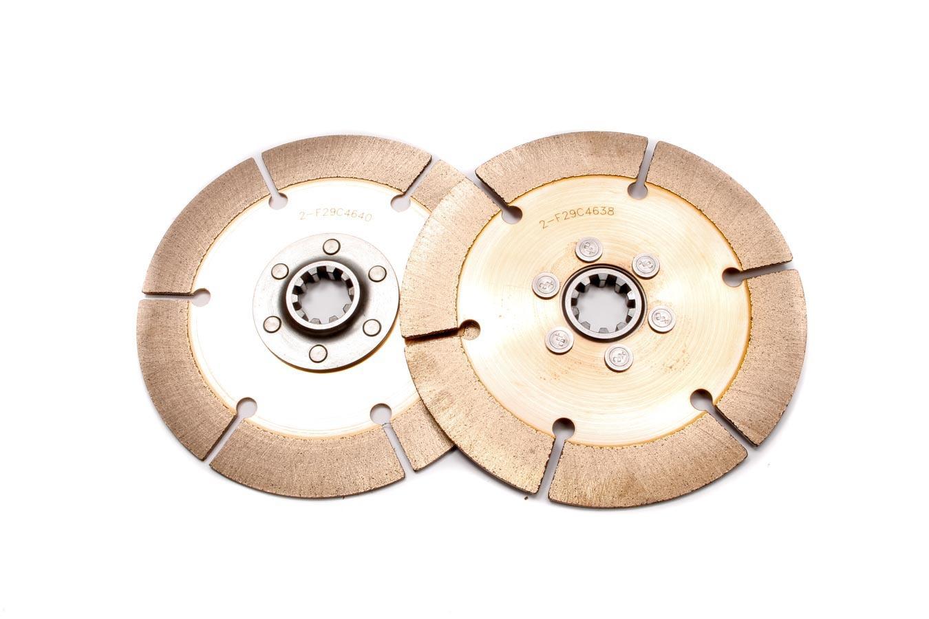 Tilton Disc Pack 1-1/8 x 10 Spl 2 Pack