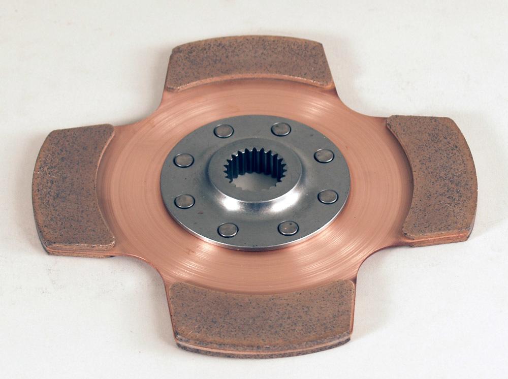 Tilton Clutch Pack 1 Disc 7.25 1in x 23spl Cerametallic