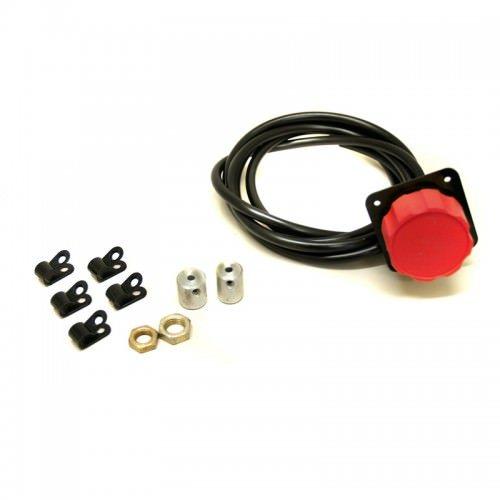 Tilton Adjuster Brake Bias Red 3/8in & 7/16in Coupler