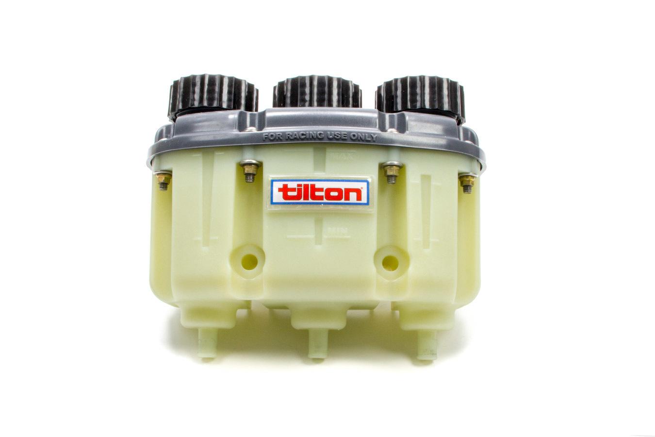 Tilton Reservoir Plastic 3-Chamber Push On Fittng