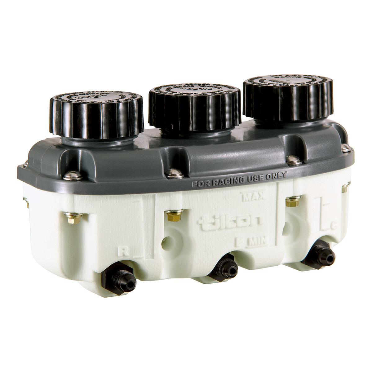 Tilton Reservoir Plastic 3- Chamber Low Profile -4an