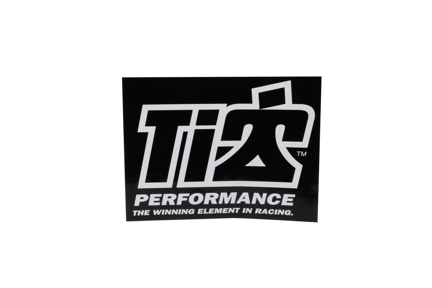 Ti22 Performance Ti22 Decal 6x8 Black