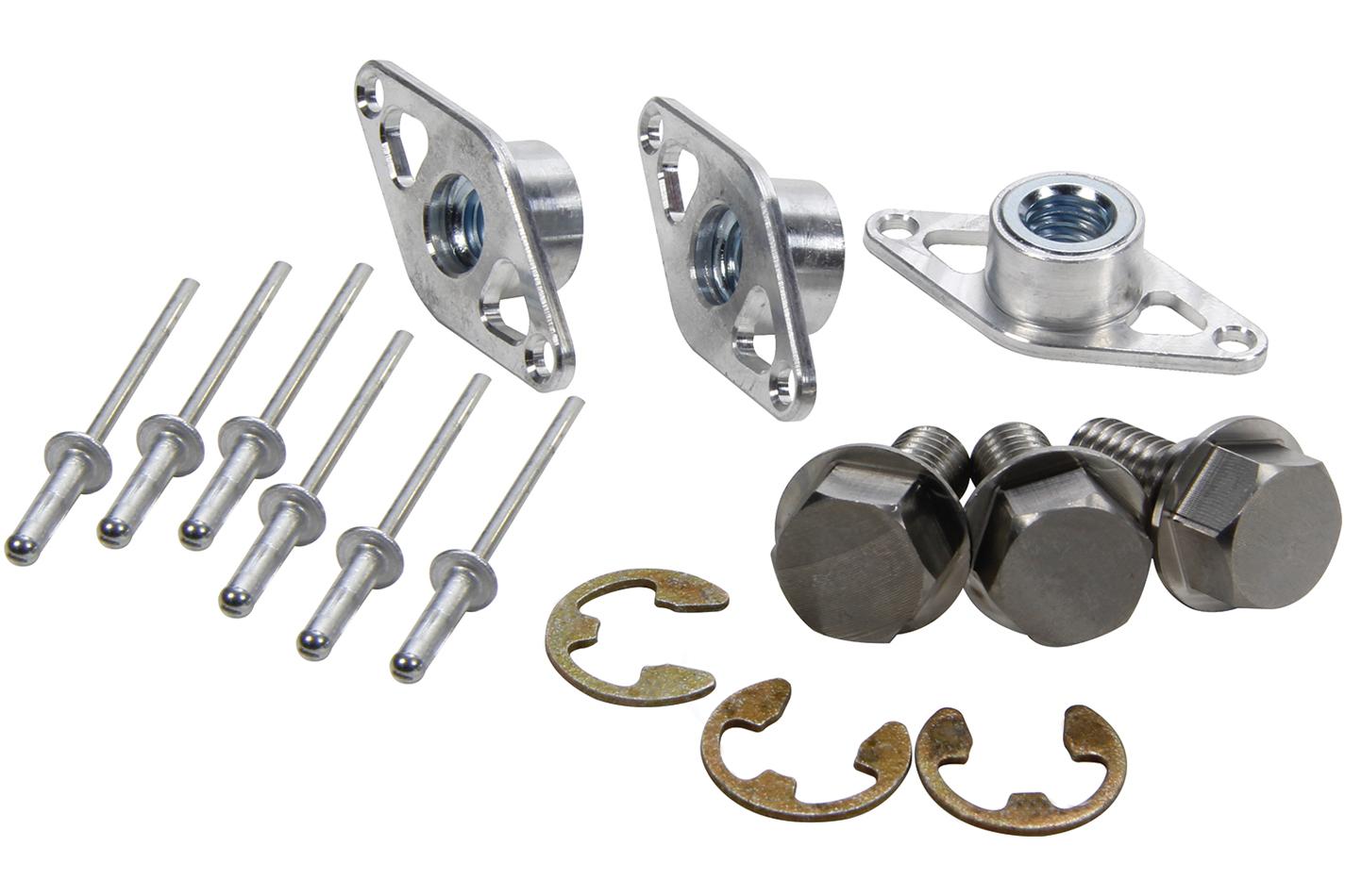 Ti22 Performance Wheel Cover Retaining Bolt Kit Steel