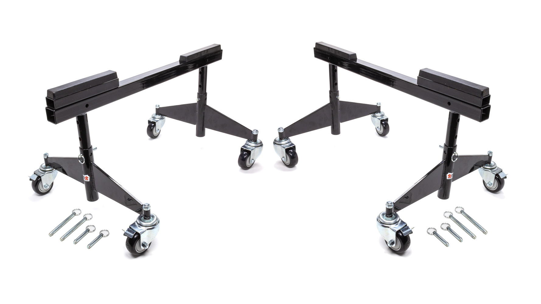 Ti22 Performance Rolling Chassis Stands Black