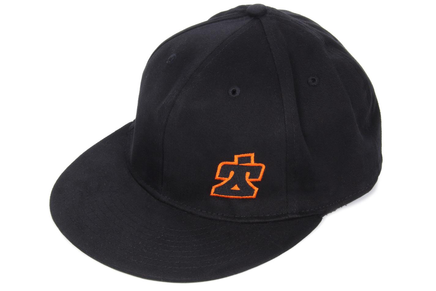 Ti22 Performance Ti22 Flat Bill Hat Black Fitted Small/Medium