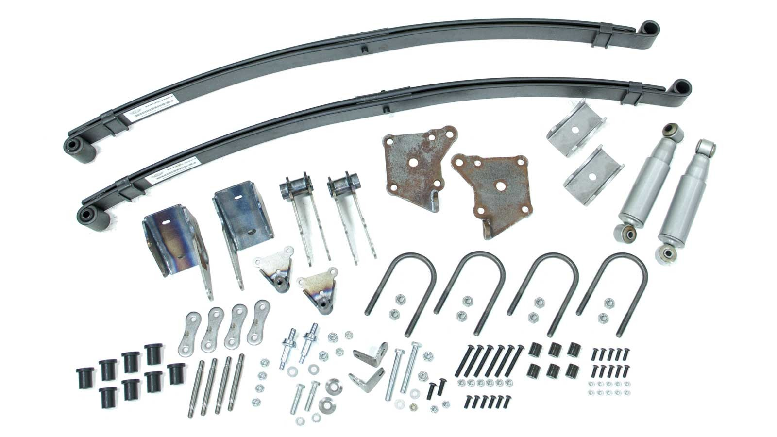 Total Cost Involved Eng. 35-48 Ford Rear Leaf Spring Kit