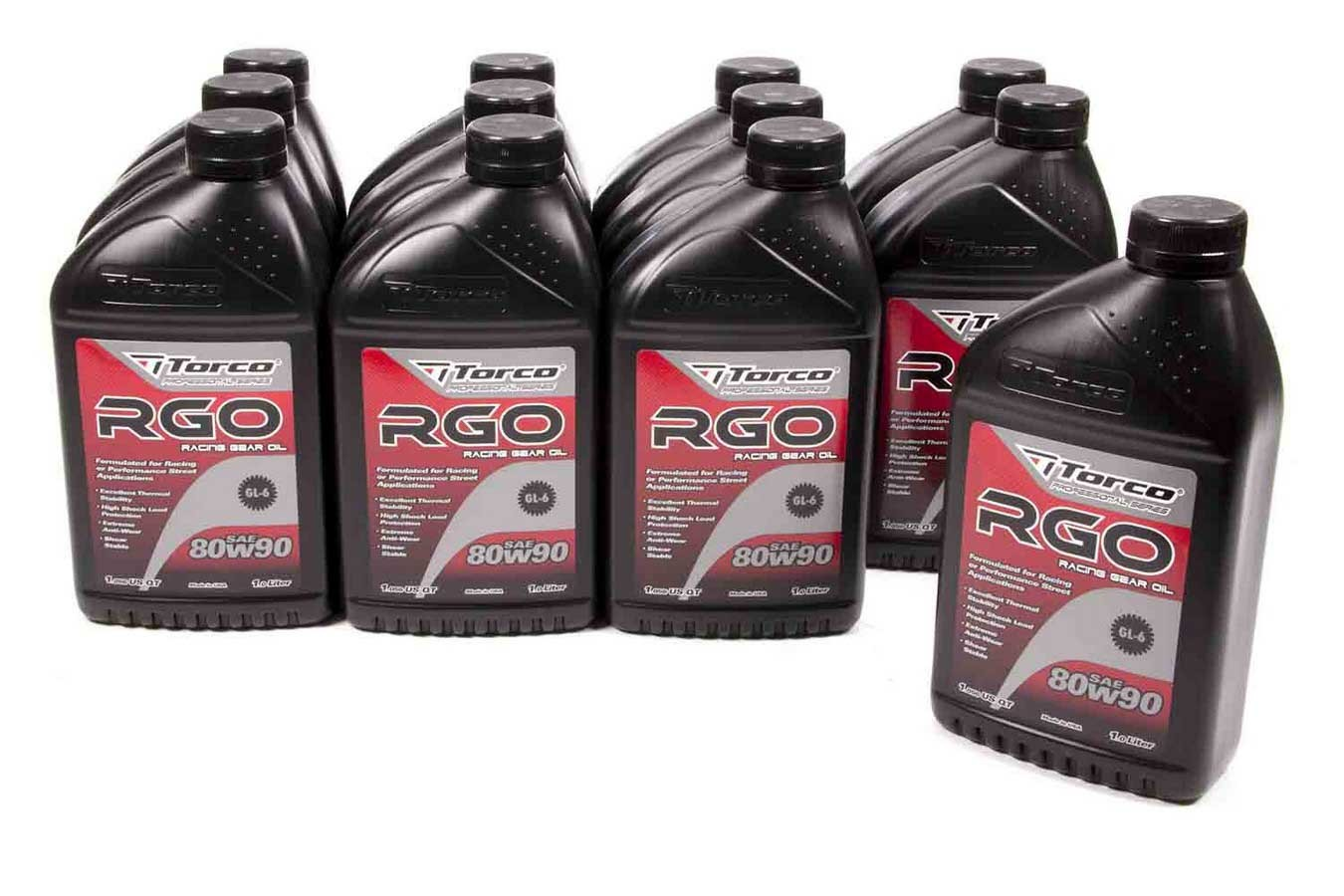 Torco RGO 80w90 Racing Gear Oil Case/12-1 Liter