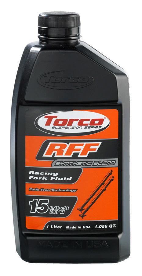 Torco RFF Racing Fork Fluid 15 -12x1-Liter