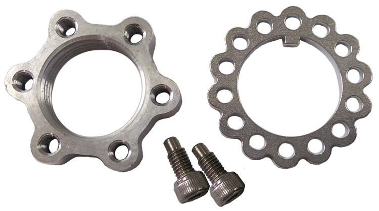 Triple X Race Components Spindle Locknut For XB Spindles