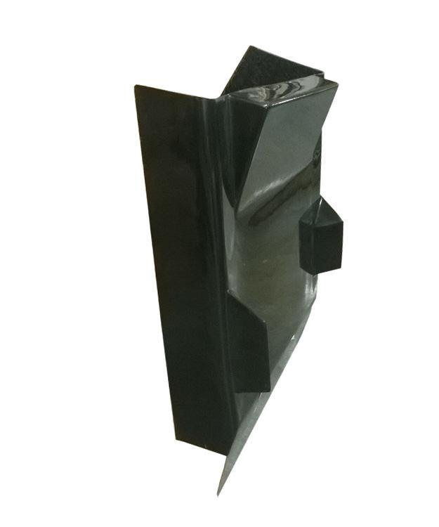 Triple X Race Components Dual Duct Inside Rail Dash Black
