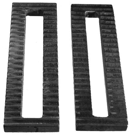 U-b Machine Serrated Steel Plate .75 slot .5 x 2 x  6