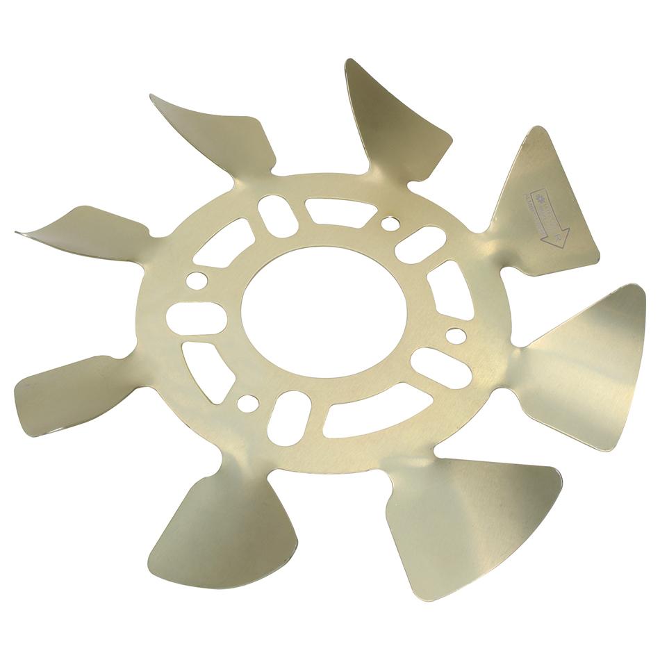 Ultra Cool Brake Fans Brake Fan - RH Aluminum 5x4-1/2 to 5-1/8 w/ .625