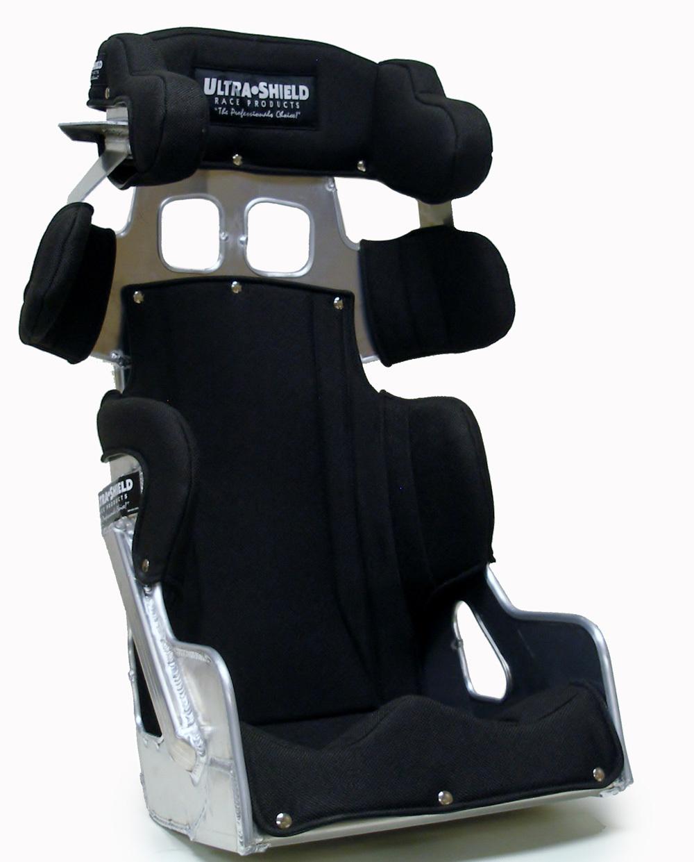 Ultra Shield Seat 17in FC2 20 Deg w/ Black Cover