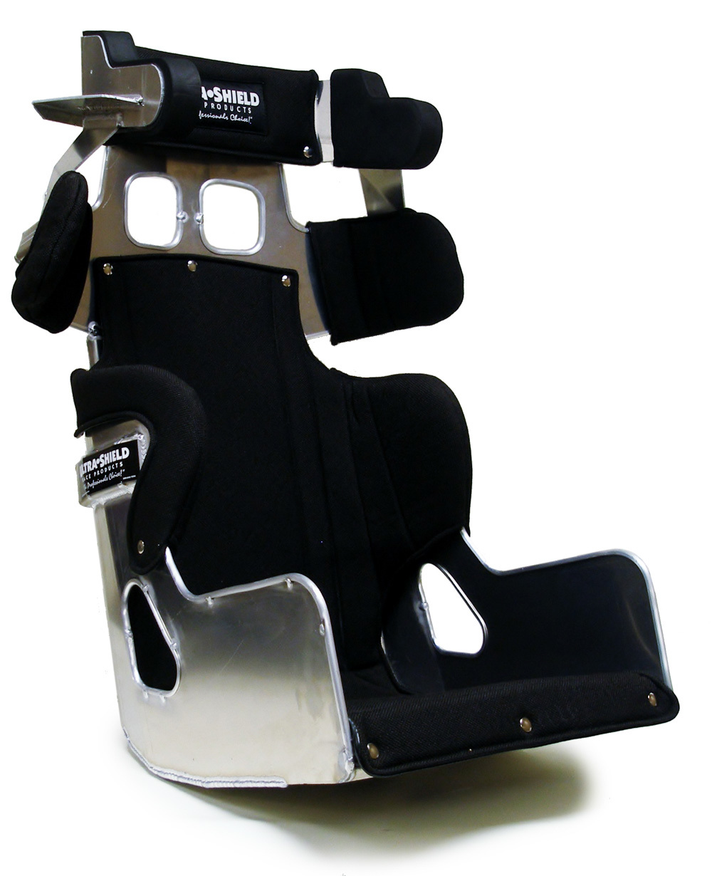 Ultra Shield Seat 15in FC1 LM 20 Deg 1in Taller w/Black Cover