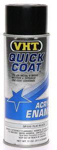 Vht Flat Black Quick Coat