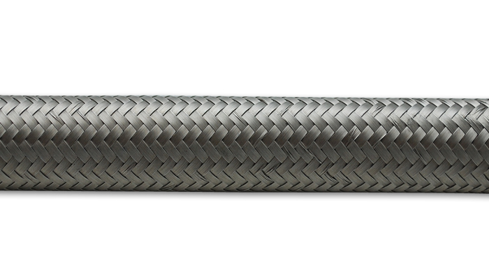Vibrant Performance 2ft Roll -6 Stainless St eel Braided Flex Hose
