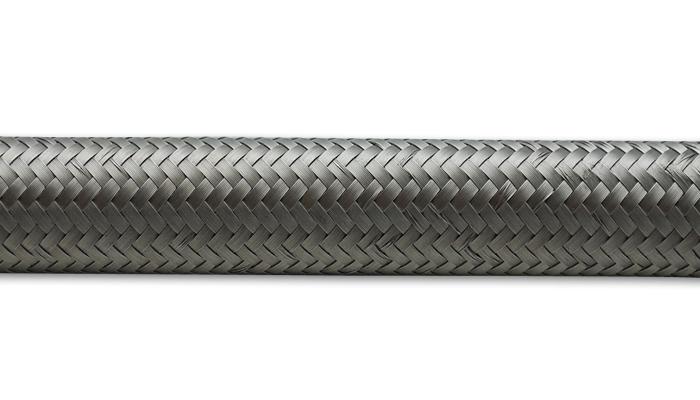 Vibrant Performance 10ft Roll -4 Stainless S teel Braided Flex Hose