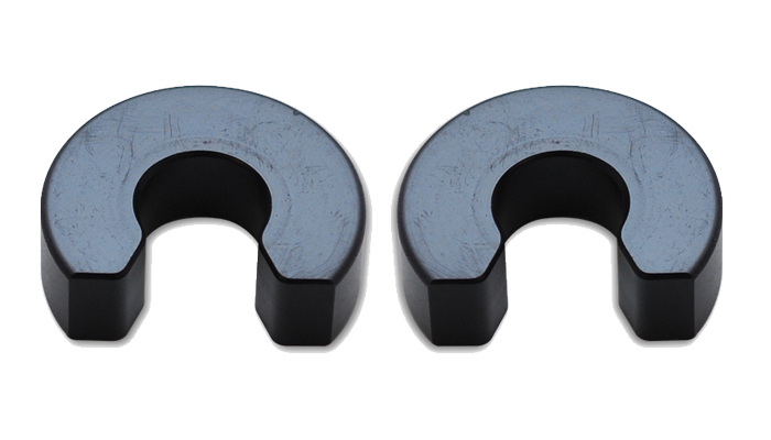 Vibrant Performance Exhaust Hanger Road Clip s (2 Pack) for 3/8in O.D