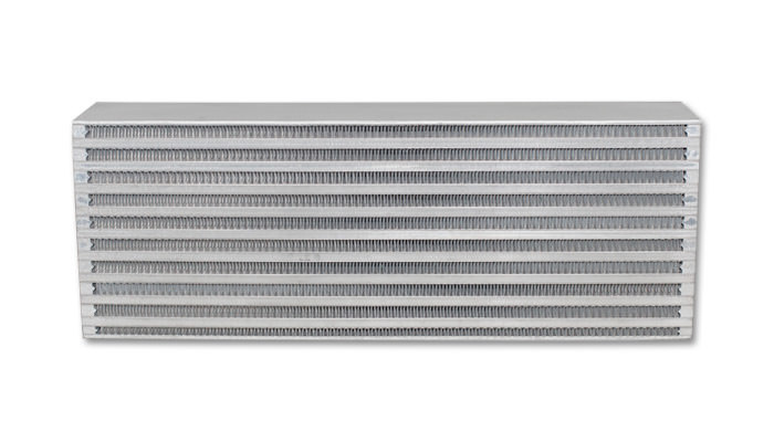 Vibrant Performance Intercooler Core; 18inW x 6.5inH x 3.25inThick