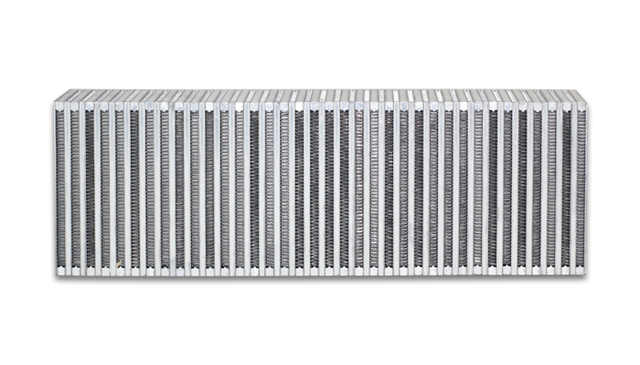 Vibrant Performance Vertical Flow Intercoole r 24inW x 8inH x 3.5in
