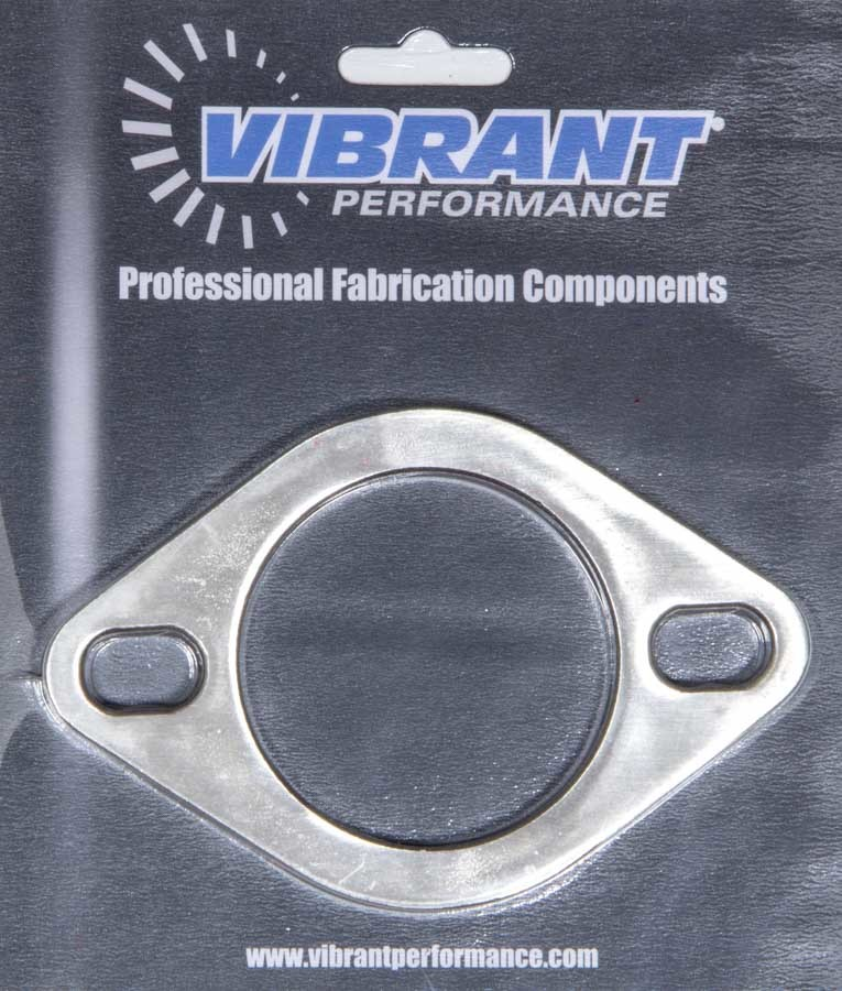 Vibrant Performance 2-Bolt Stainless Steel Exhaust Flange 2.5in