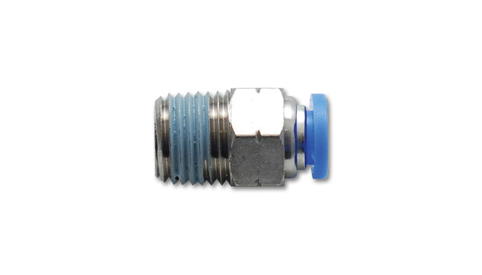 Vibrant Performance 6mm Male Straight One-To uch Fitting (1/8in NPT T