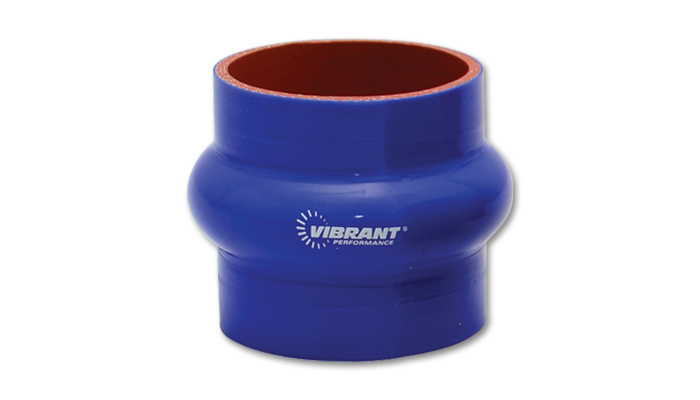 Vibrant Performance 4 Ply Hump Hose 3in I.D. x 3in long - Blue