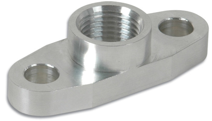 Vibrant Performance Oil Drain Flange For Use With T3 T3/T4 And T04