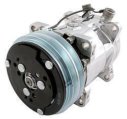 Vintage Air Sanden 508 Polished Compressor