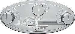 Vintage Air Gen II Streamline Contrl Panel