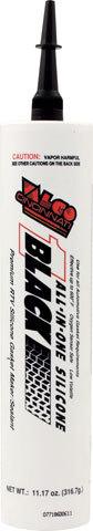 Valco Black Silicone 11.17oz Cartridge