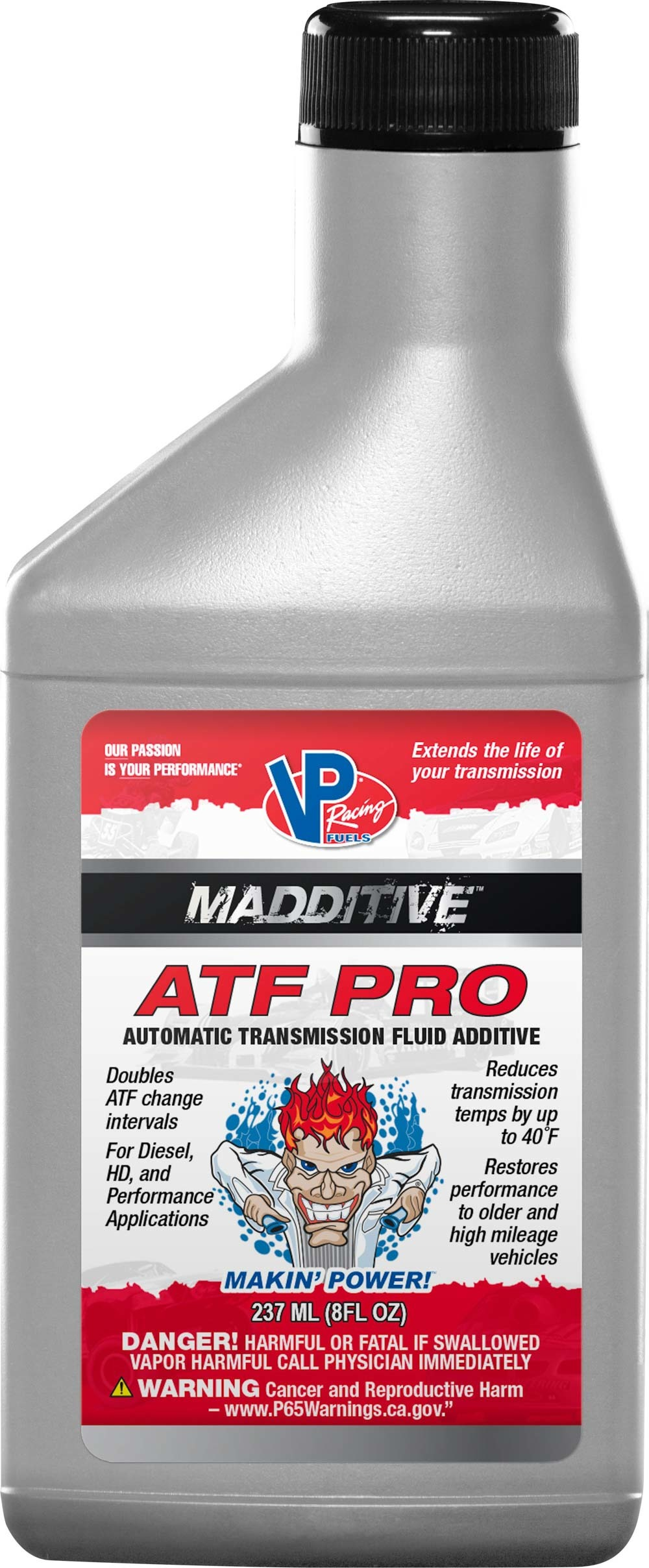 Vp Fuel Containers Transmission Additive Pro 8oz