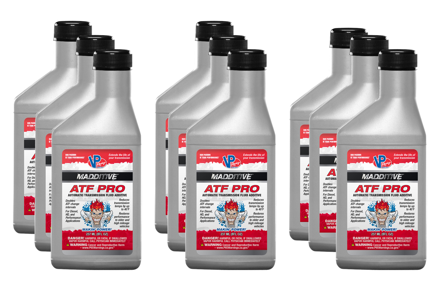 Vp Fuel Containers Transmission Additive Pro Canada 8oz (Case 9)