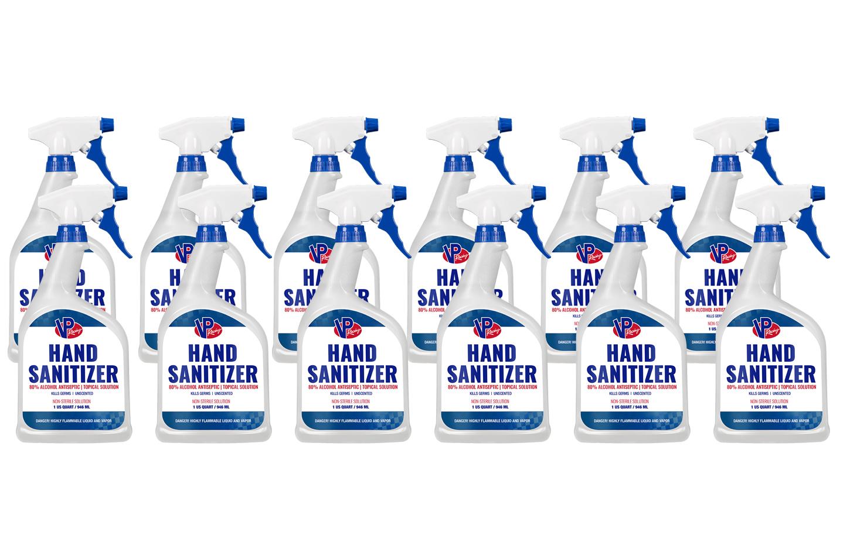 Vp Fuel Containers Hand Sanitizer 80% Alcohol 32oz (Case 12)