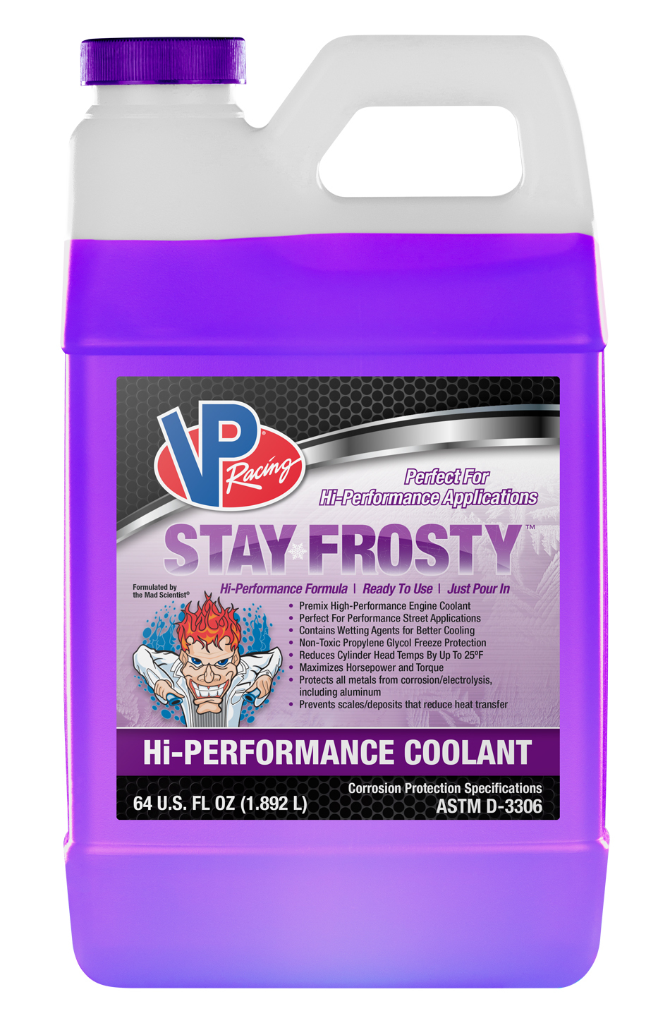 Vp Fuel Containers Coolant Hi-Perf Stay Frosty 64oz